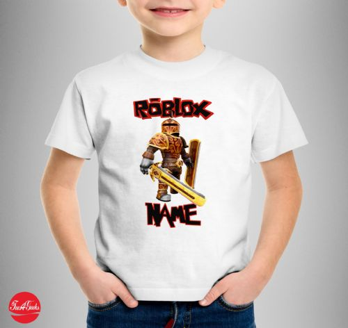 Personalised Roblox Knight T-Shirt